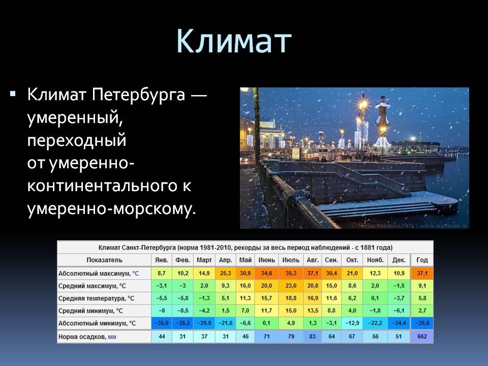Каким будет лето в Петербурге? Прогноз на лето, статистические данные