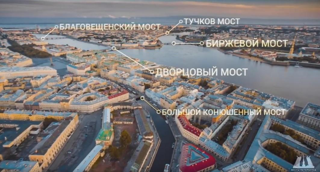 Рейтинг мостов Петербурга: 10 самых популярных мостов