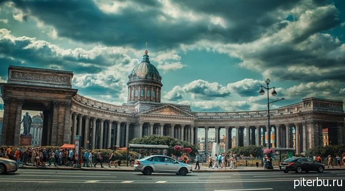 Самостоятельный тур по Петербургу на 5 дней - день первый