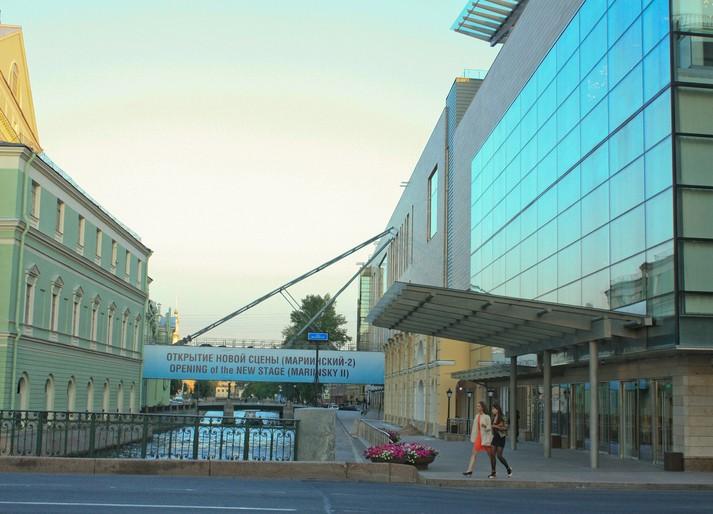 Новая сцена Мариинского театра.