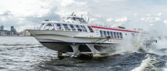 Из Петербурга в Петергоф будут ходить новые судна Грифон