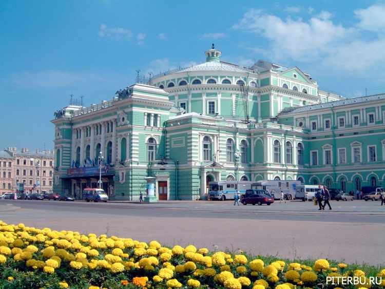 Экскурсия по Петербургу №23: Консерватория – Мариинский театр – Морской собор – Синагога