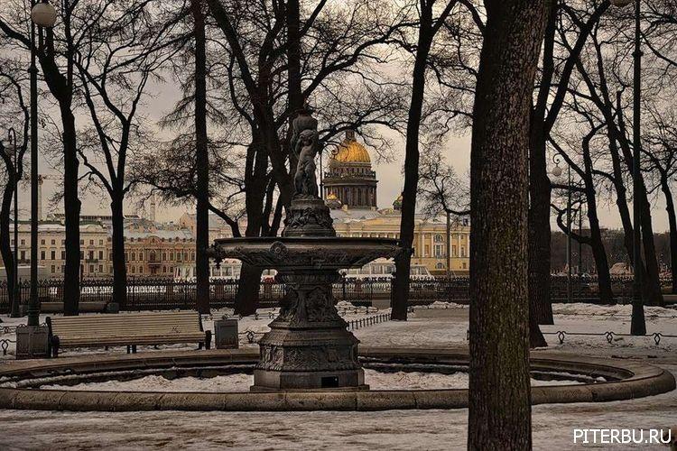 Экскурсия по Петербургу №25: Румянцевский сад – Академия художеств – Набережная со сфинксами