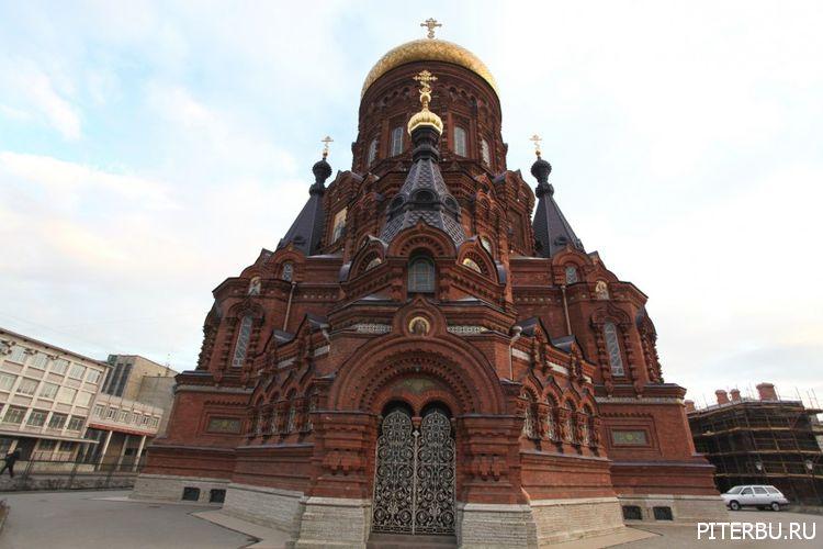 Екатерингоф, Морской порт, Церковь Богоявления Господня в Петербурге