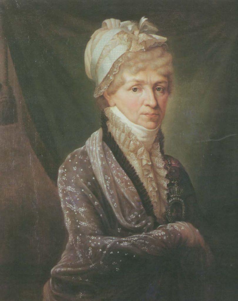 Портрет Натальи Петровны Голицыной. Бенуа-Шарль Митуар. 1810-е
