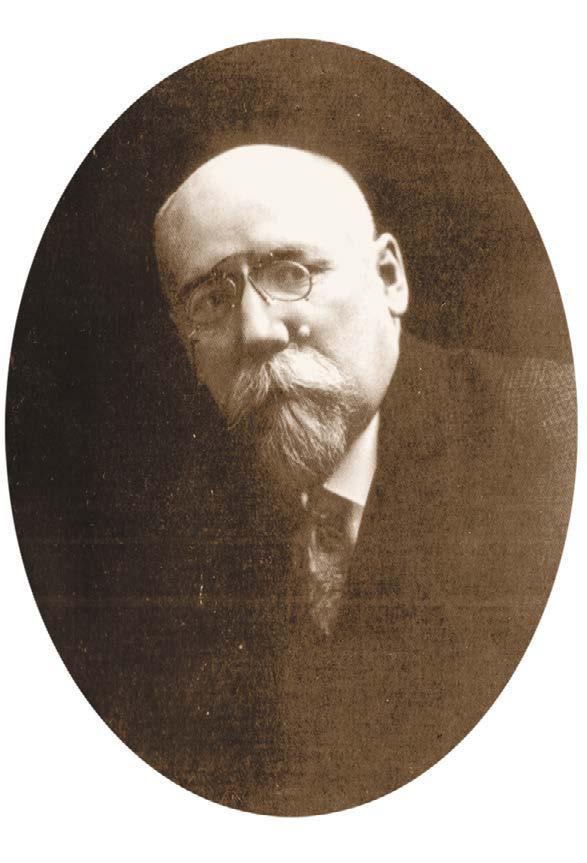 Портрет Фёдора Кузьмича Сологуба (1863–1927)
