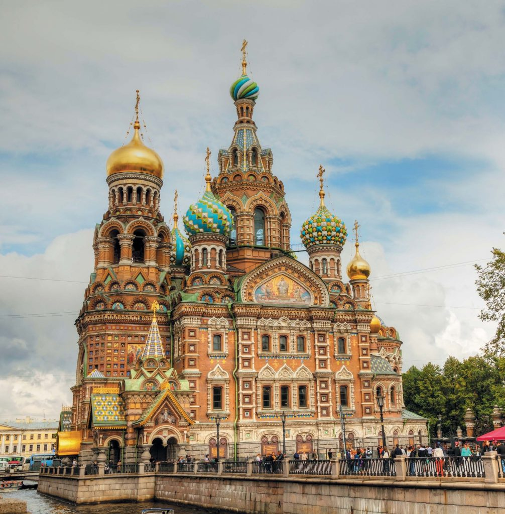 Храм Спаса на Крови построен на месте гибели императора Александра II