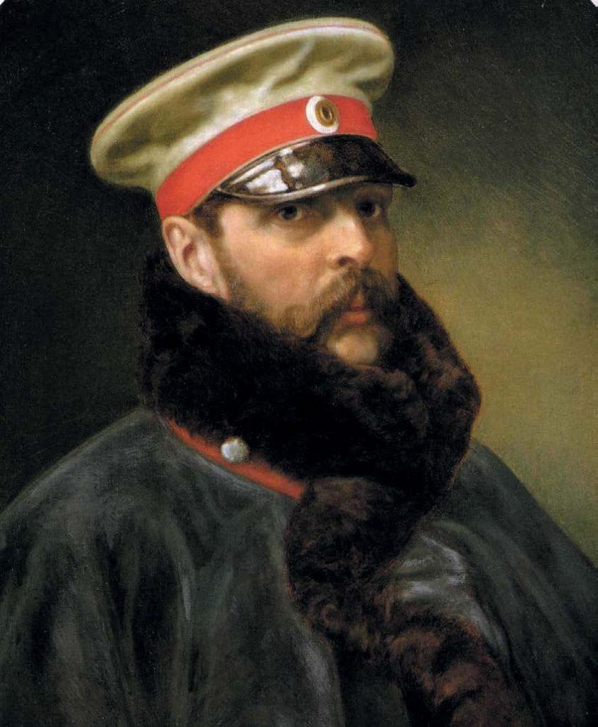 Портрет императора Александра II. Неизвестный автор. 1865