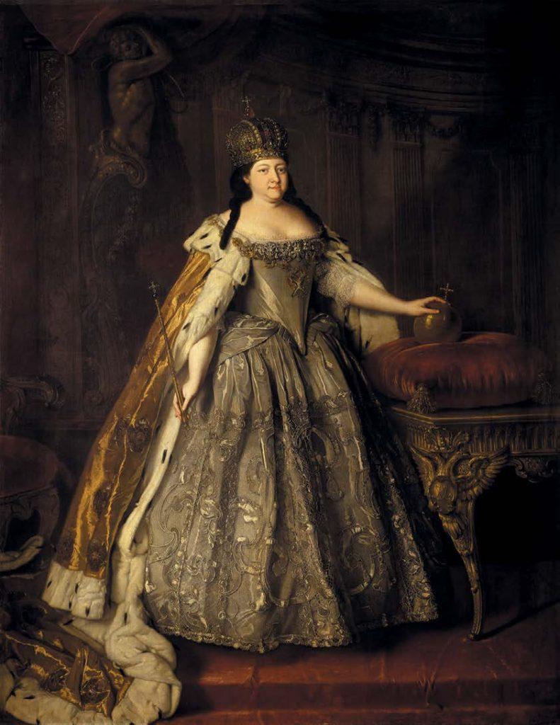 Портрет императрицы Анны Иоанновны. Луи Каравак. 1730