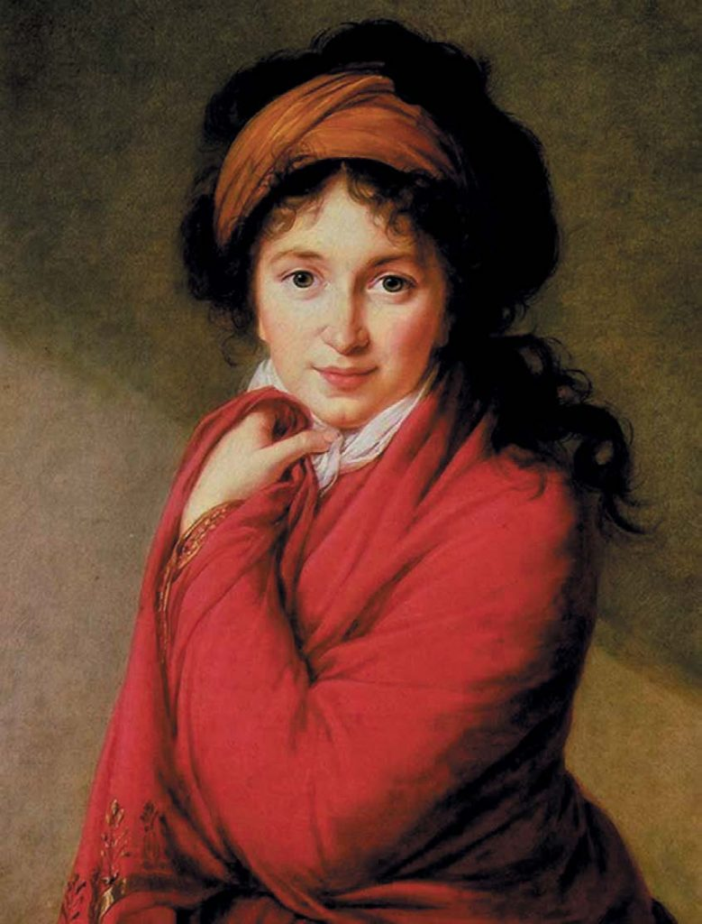Портрет графини Варвары Николаевны Головиной. Элизабет Виже-Лебрён. 1797–1800