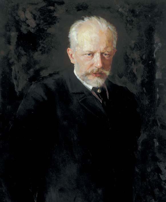 Портрет Петра Ильича Чайковского. Николай Дмитриевич Кузнецов. 1893