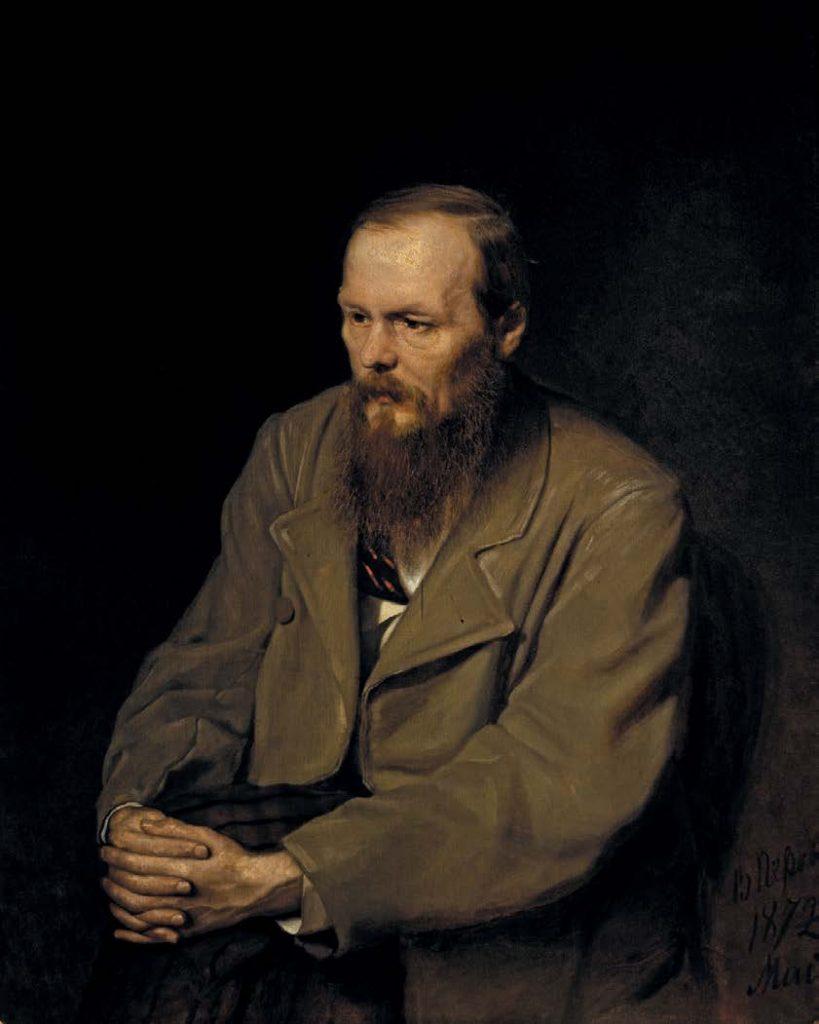 Портрет Фёдора Михайловича Достоевского. Василий Григорьевич Перов. 1872