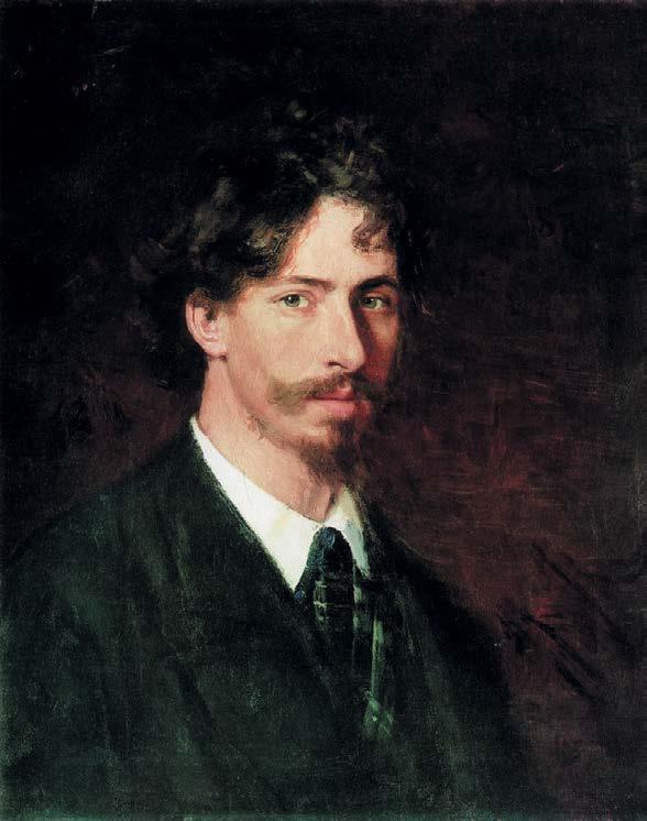 Автопортрет Ильи Ефимовича Репина. 1878