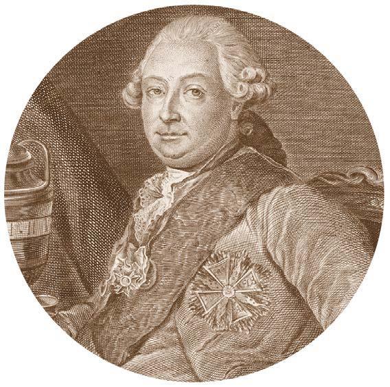 Портрет Ивана Перфильевича Елагина. Гравюра. Дмитрий Герасимович Герасимов. 1773
