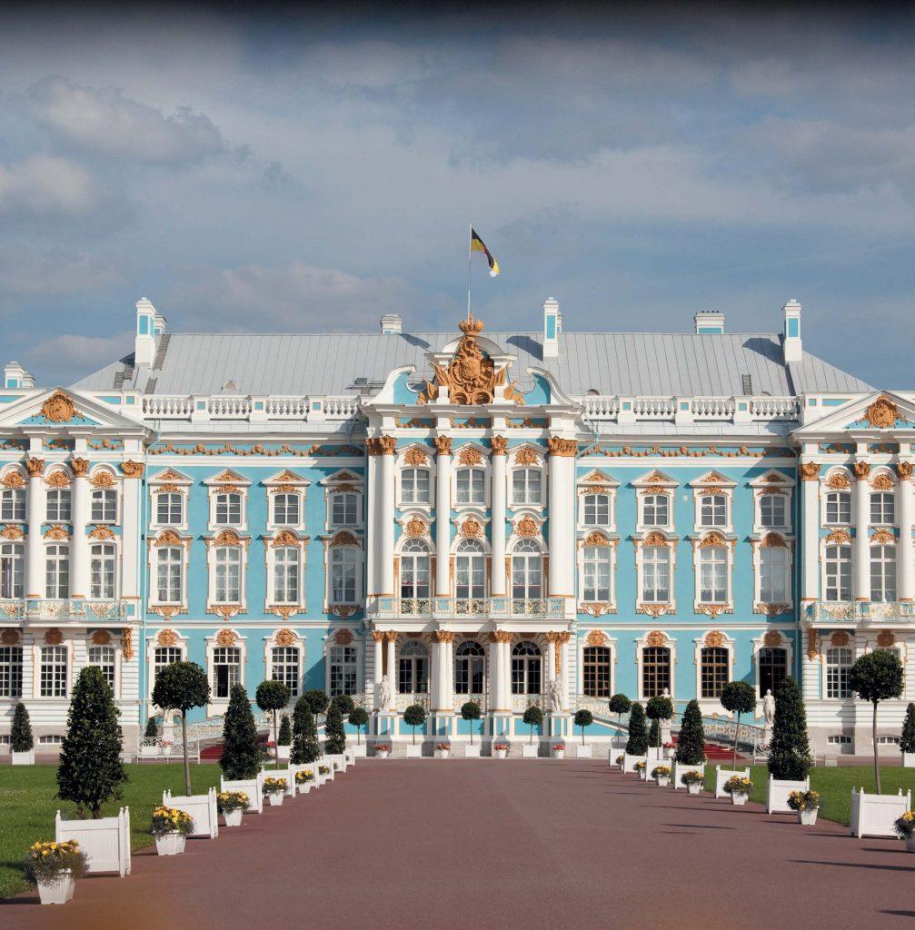 Екатерининский дворец в Царском Селе увековечил имя своей первой владелицы — Екатерины I