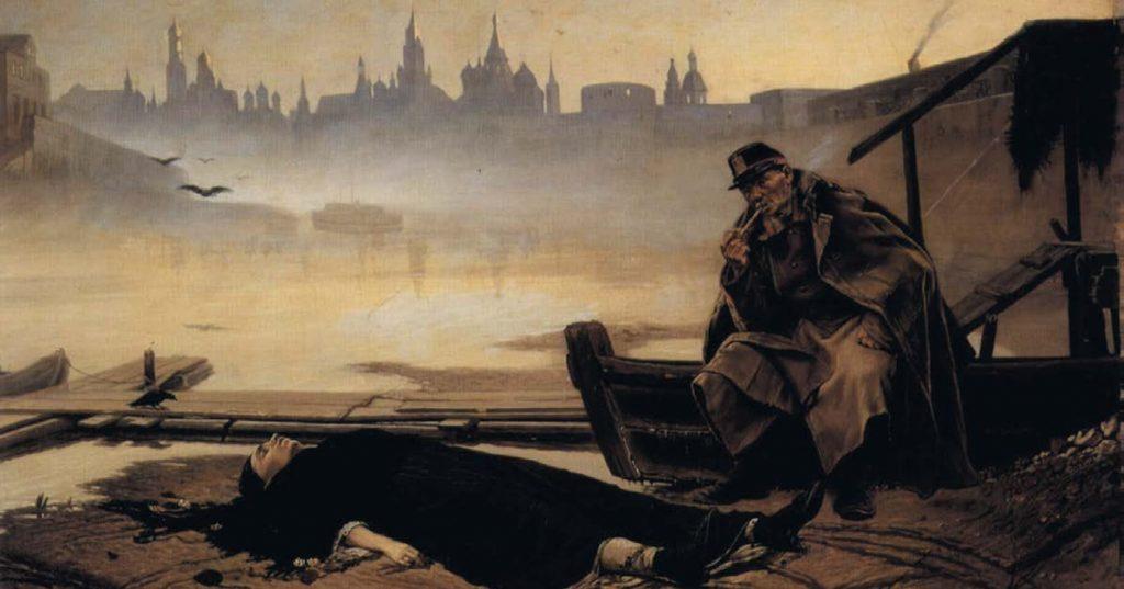 Утопленница. Василий Григорьевич Перов. 1867