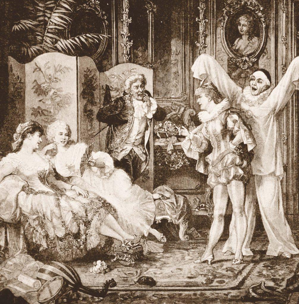 В XVIII в. знали толк в эффектных и пышных представлениях