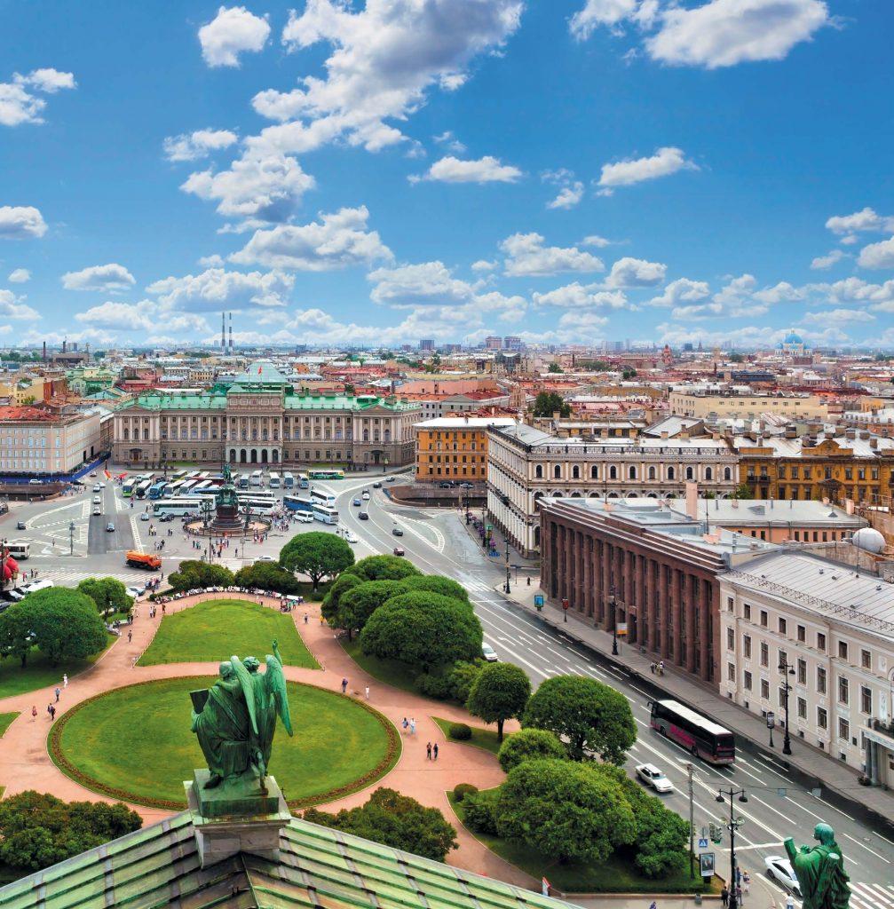 Мариинский дворец в наши дни. Вид с Исаакиевского собора