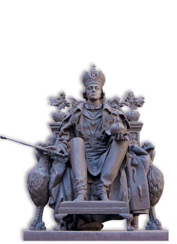 Памятник Павлу I во дворе Михайловского замка