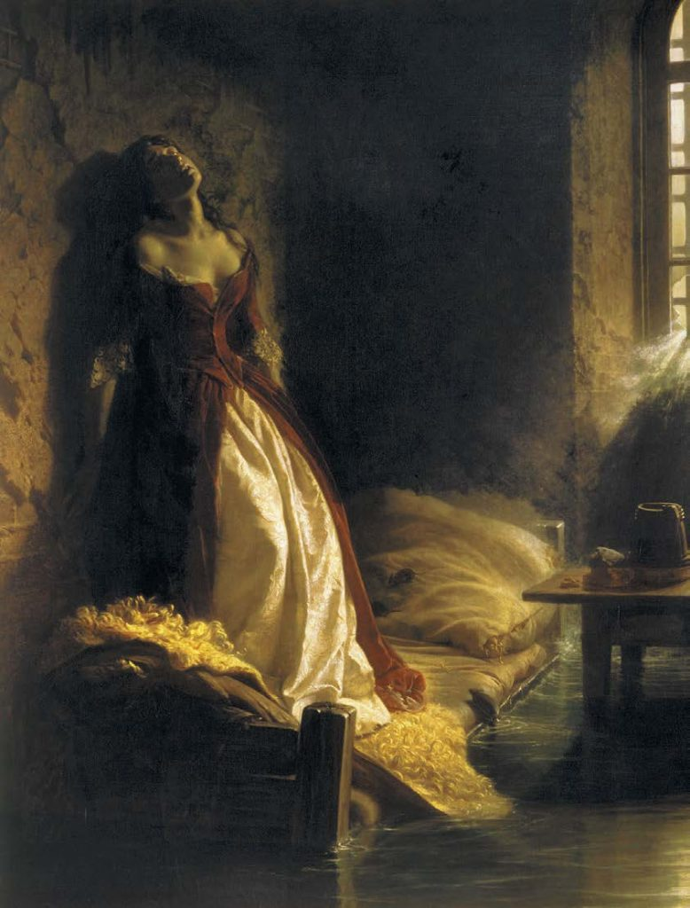 Княжна Тараканова. Константин Дмитриевич Флавицкий. 1864
