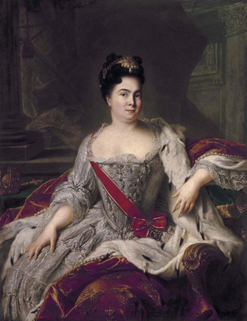 Портрет Екатерины I. Жан-Марк Натье. 1717