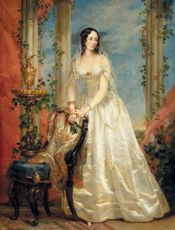 Портрет Зинаиды Ивановны Юсуповой. Кристина Робертсон. 1840–1841