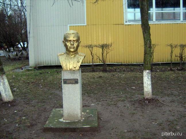 Бюст Г.П. Моисеенко в Петербурге