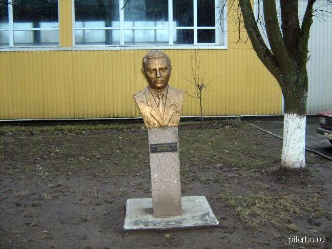 Бюст С.Н. Пальчука в Петербурге