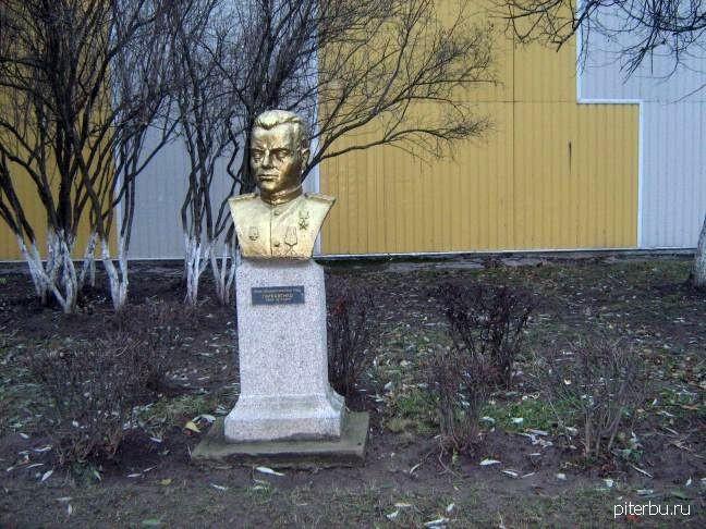 Бюст И.П. Гаркавенко в Петербурге