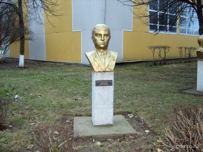 Бюст П.А. Кабанова в Петербурге
