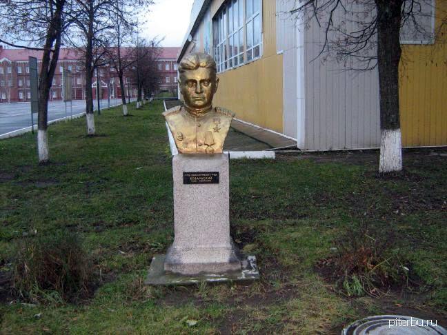 Бюст П.Л. Ковальского в Петербурге