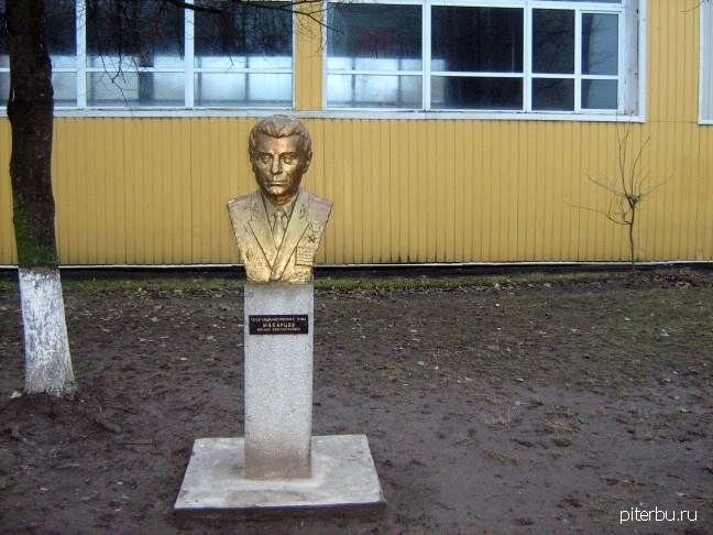 Бюст М.К. Макарцева в Петербурге