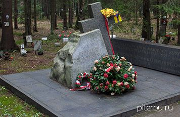 Белорусско-литовский памятник погибшим во время сталинского террора в Петербурге