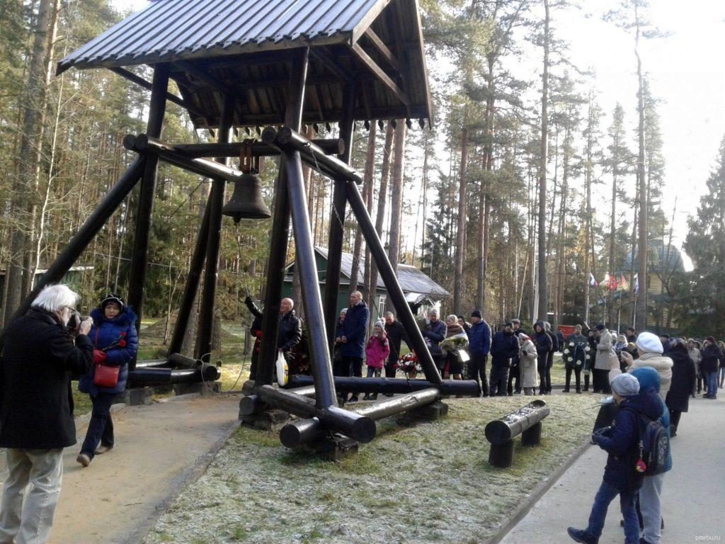 Звонница памяти погибших во время сталинского террора в Петербурге