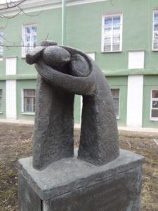 Скульптурный ансамбль «Гефсиманский сад. Жертва. Любовь. Единение» в Петербурге на Университетской набережной