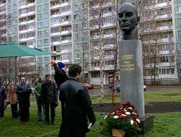 Памятник П.Н.Кашкину в Петербурге