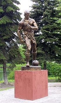 Памятник П.Т.(«Пеке») Дементьеву в Петербурге
