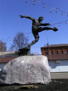 Памятник В.М.Боброву в Петербурге на Дубковском шоссе