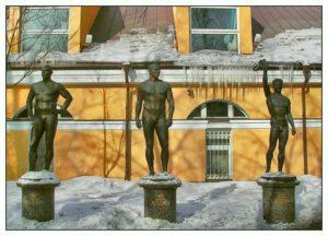 Статуя Н.Н.Соловьева в Петербурге