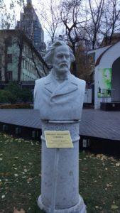 Бюст М.И.Глинки в Петербурге