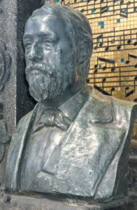 Бюст А.П.Бородина в Петербурге