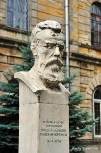 Бюст НАРимского-Корсакова в Петербурге
