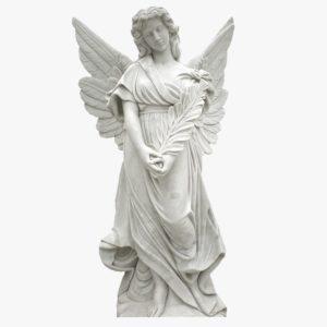 Скульптура «Ангел» в Петербурге на крыши Мариинской больницы