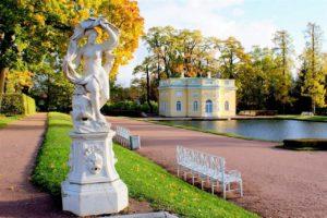 Скульптура «Лето» в Петербурге в Летнем саду