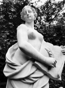 Скульптура «Милосердие» в Петербурге в Летнем саду