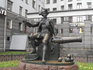 «Памятник Василию» в Петербурге на Васильевском острове