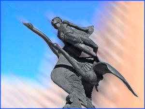 Скульптурная композиция «Сказки детства» в Петербурге а пр. Королева