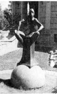 Скульптора «Звездочет» в Петербурге в пос Токсово