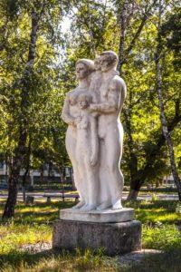 Композиция «Семья сына» в Петербурге на Приморском шоссе