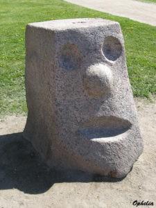 Скульптура «Людоед» в Петербурге в Муринском парке
